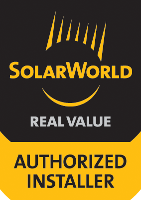 SolarWorld Authorized Installer Logo 100x141