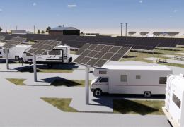 147kW Solar RV Park- Hermiston, OR