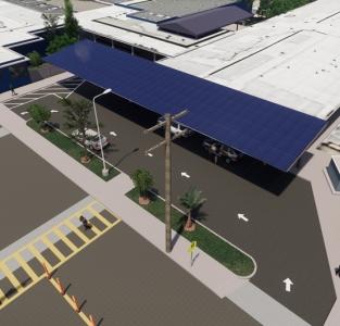 47kW School Canopy, San Diego