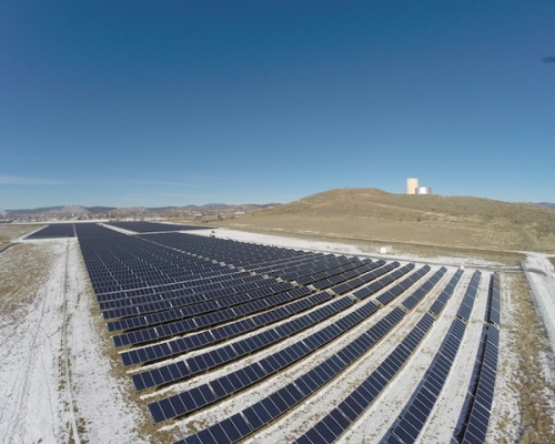 3.8mW Solar Farm, Klamath Falls, OR