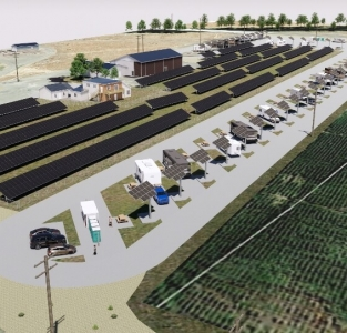 147kW Solar RV Park- Hermiston, OR