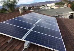 3.3kW system Covina, CA