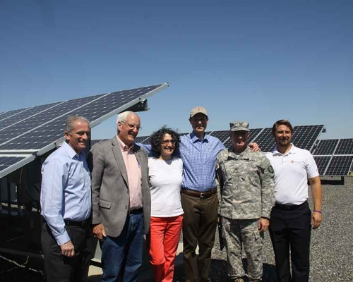 150 kW system dedication-Army Air Support Guard Facility, Pendleton OR