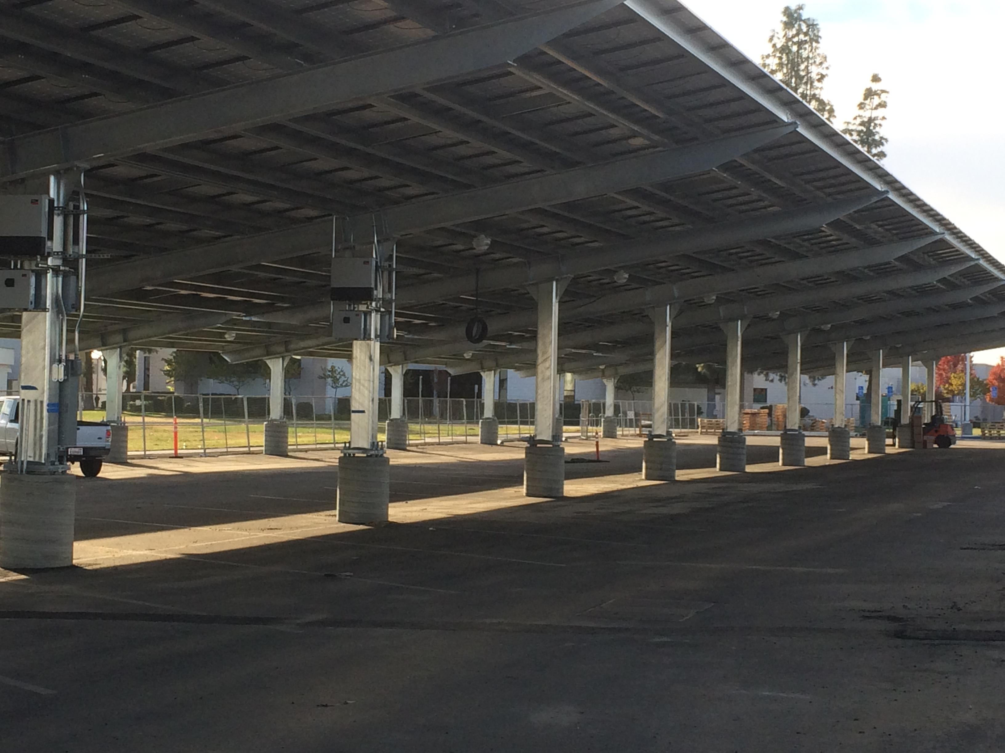 Parking Garage Solar